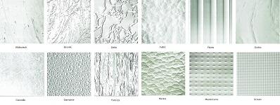 Katedrál üveg minták