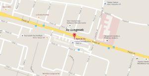 Az üvegesek, 17. kerület Pesti út 41c (A Cinkotai útnál, Kék üzletház)